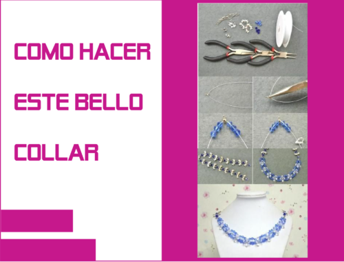 como hacer collar necklace diy handmade jewelry making supplies