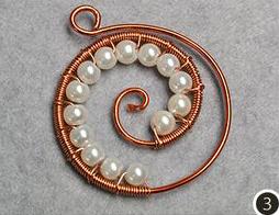 dije colgante pendiente alambrismo handmade jewelry