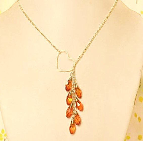 collar cristales ambar bisuteria paso a paso gratis joyeria joyas