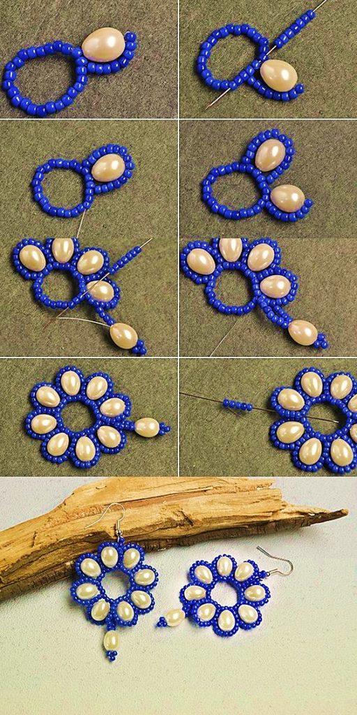 aretes mostacilla perlas handmade jewelry making supplies