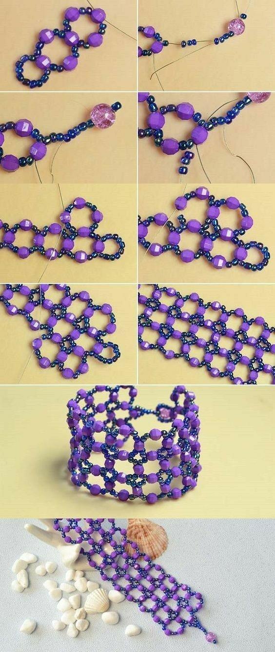 Pulsera bracelet bisuteria paso a paso jewelry