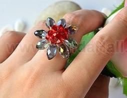 anillos cristales rings paso a paso