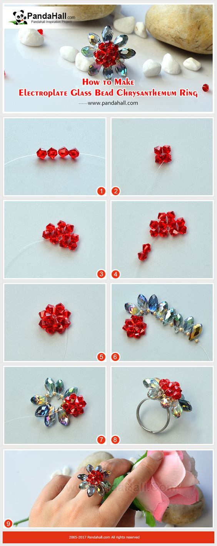 anillo cristales rings paso a paso