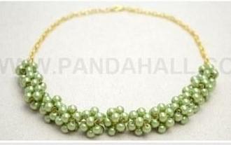 collar perlas beads necklaces DIY
