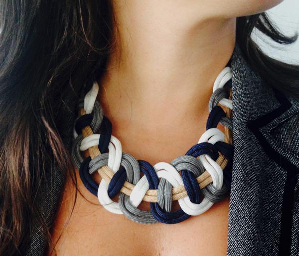 parachute cord diy macrame jewelry bisuteria collares necklaces tutoriales como hacer