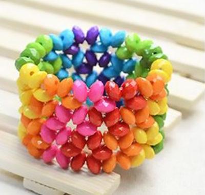 pulseras bracelets beads colors handmade jewelry bisuteria