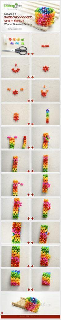 bisuteria jewelry tutorial paso pulseras bracelets beads colors