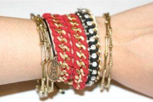 pulseras cadenas bracelets chains jewelry tutorials DIY pasos tecnica