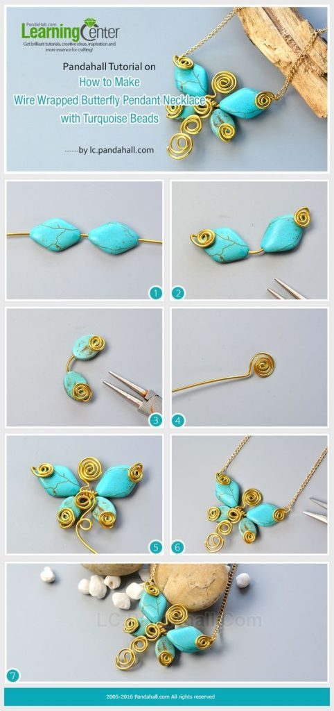 dijes collares necklaces butterfly mariposa turquesa bisuteria turquoise