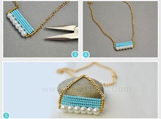 dije pendant wire bisuteria jewelry perlas mostacilla