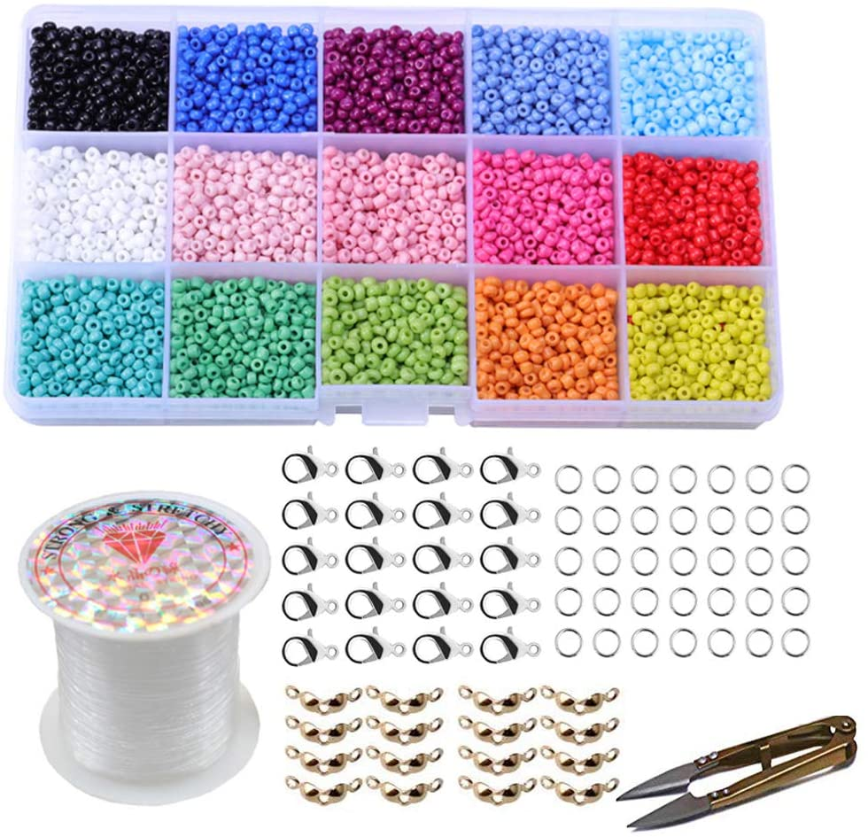 Pony-Glass-Seed-Beads jewelry making supplies